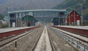 Banihal Station in J & K